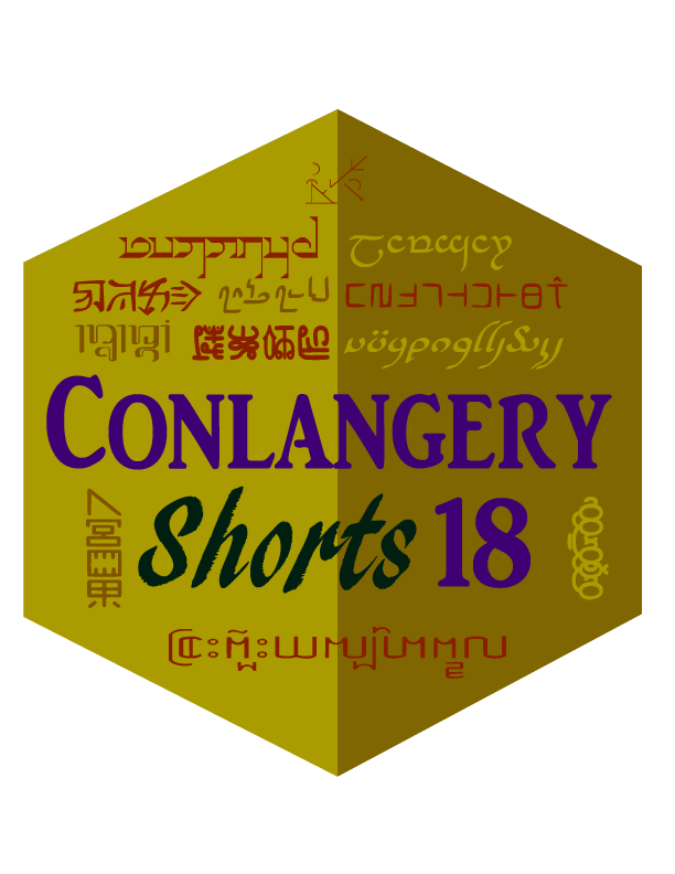 Conlangery Shorts 18 medallion