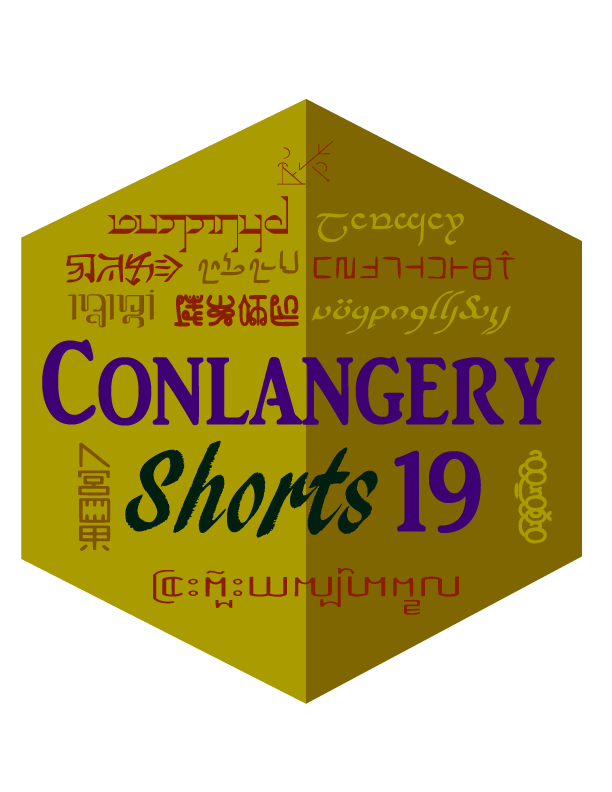 Conlangery Shorts 19 medallion