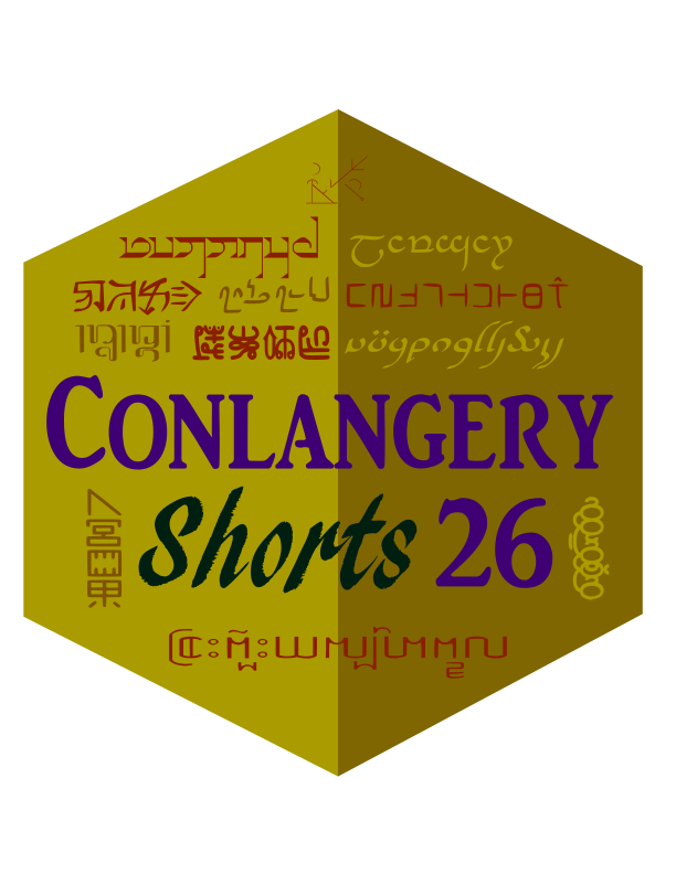 Conlangery Short 26 medallion