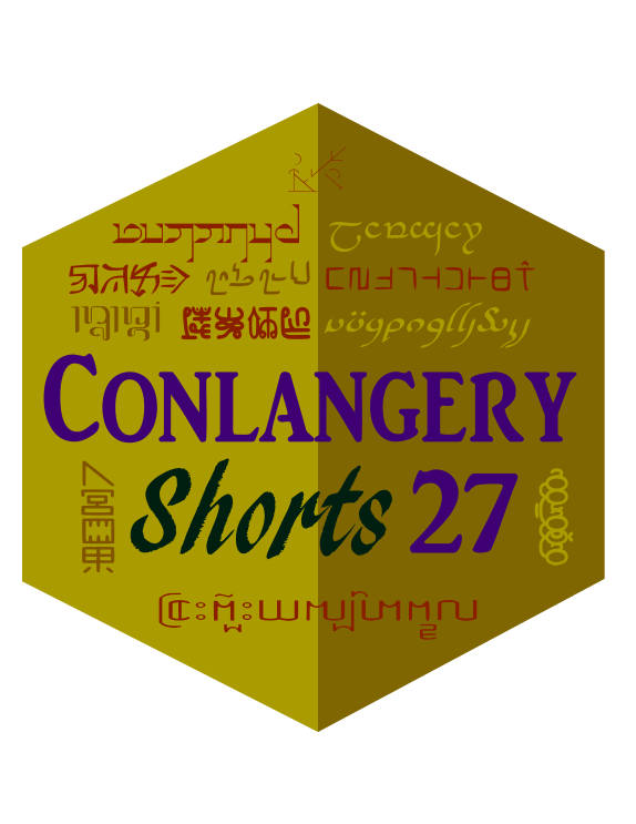 Conlangery Short 27 medallion