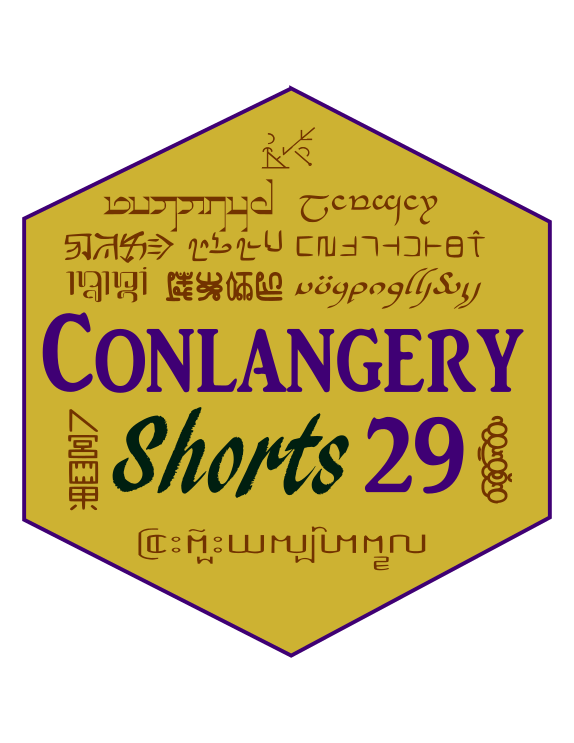 Conlangery Short 29 medallion